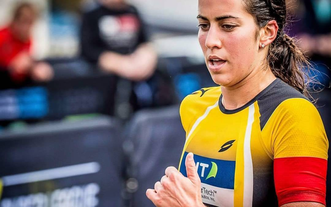 Claire Michel top-10 in spectaculaire Super League Jersey