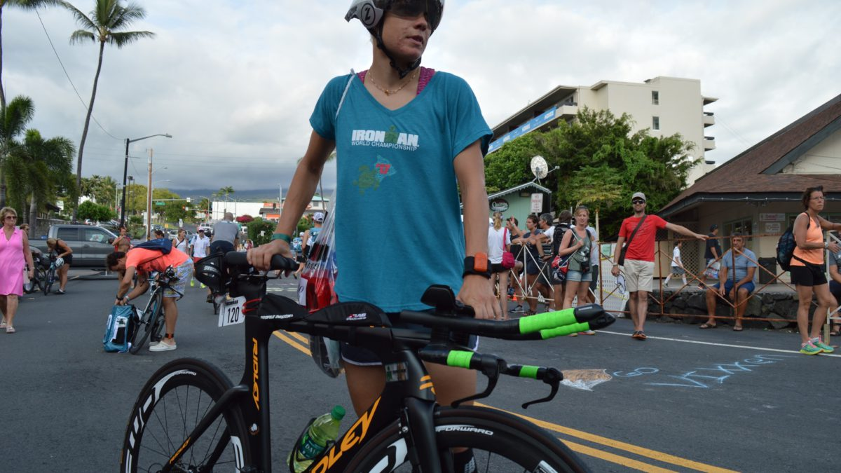 Alexandra Tondeur wil eigen koers rijden in Hawaii