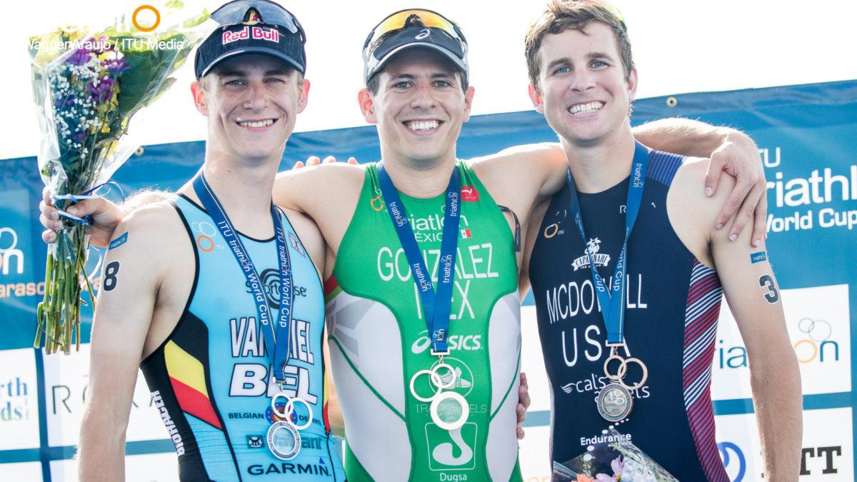 Van Riel tweede in World Cup triatlon die duatlon wordt