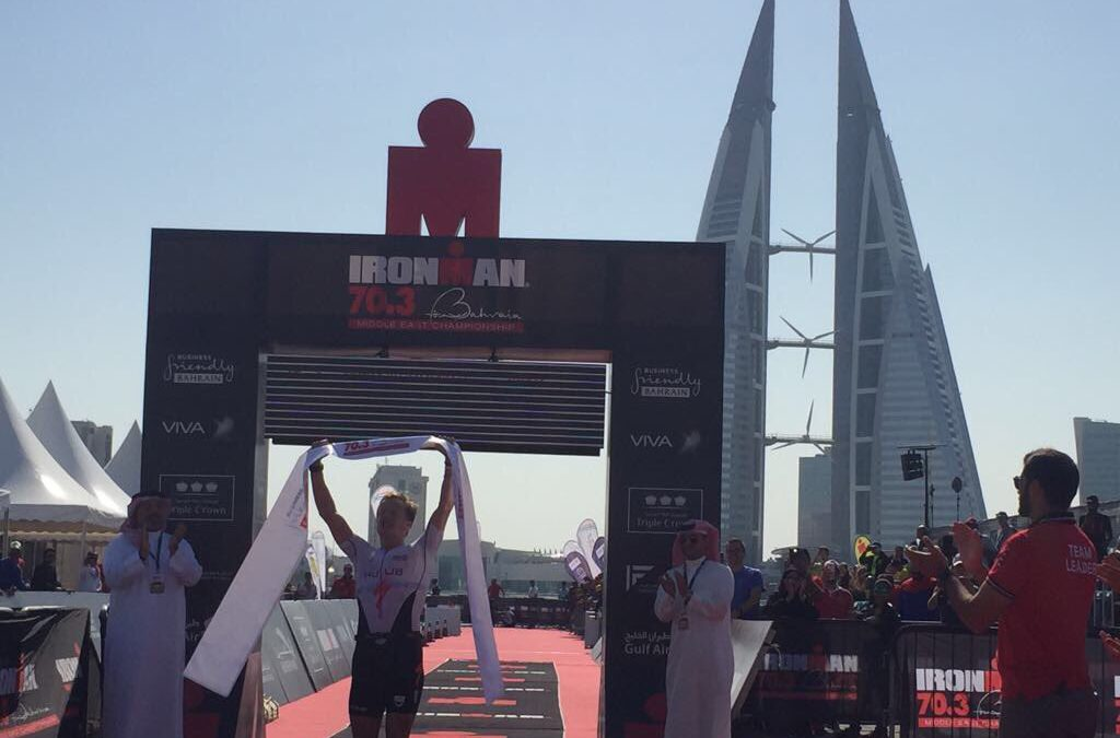 Olympiër Blummenfelt verrast in Bahrein, Heemeryck 6de
