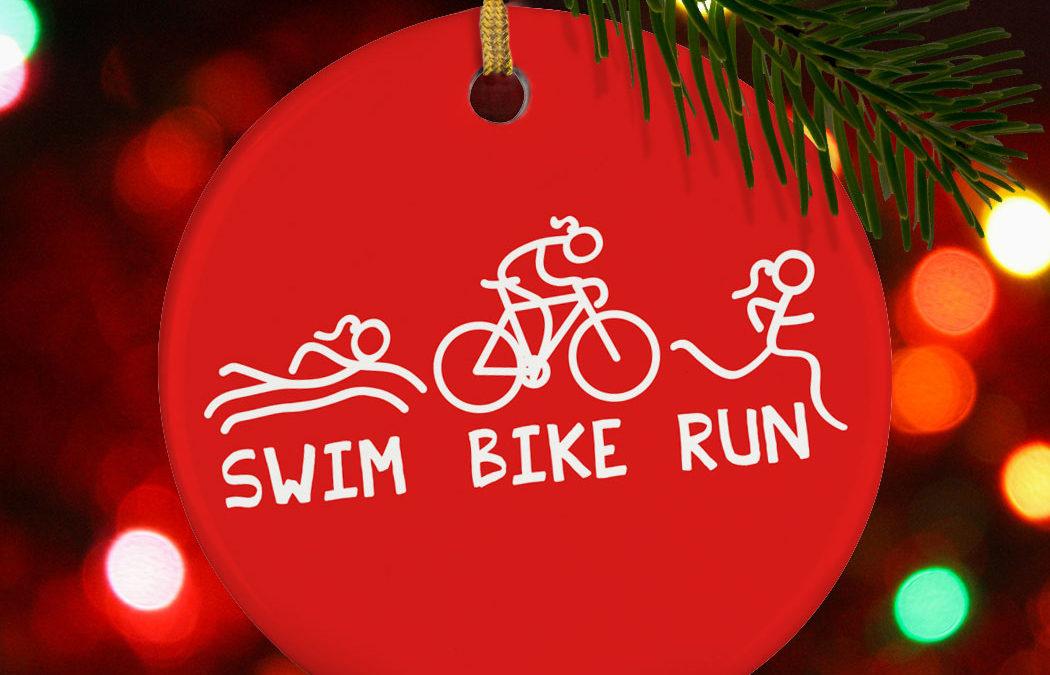 Een zalige zwem, fiets en loop kerst gewenst!