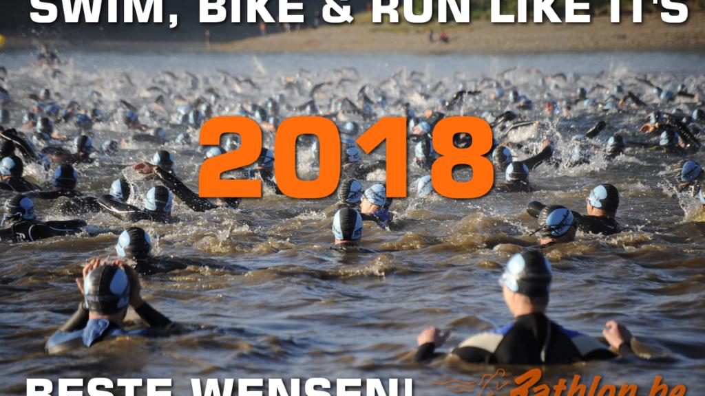Swim, bike & run like it's 2018