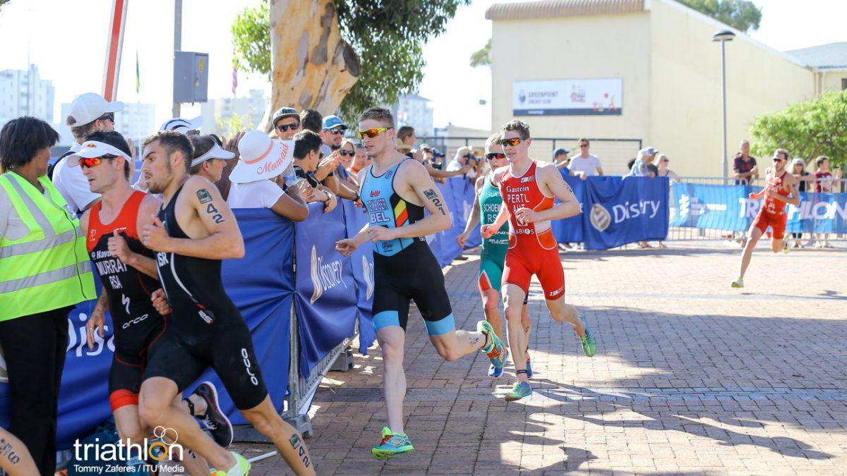 Belgen in beeld op ITU World Cup in Cape Town