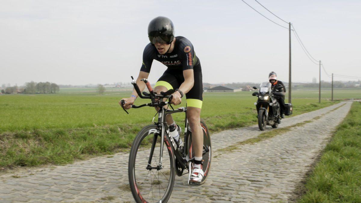 Nederlandse winst in duatlon Geluwe