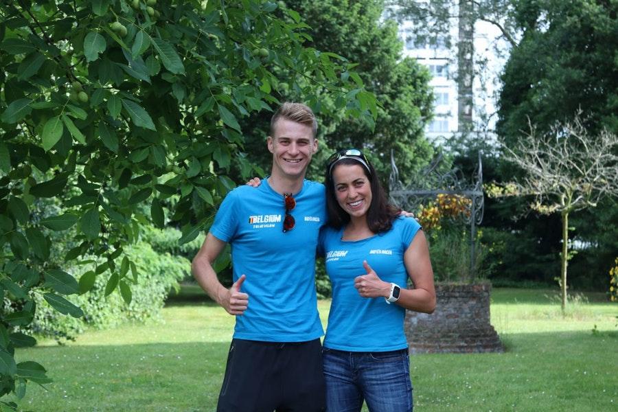 Belgische triatletes kijken uit naar Antwerpen