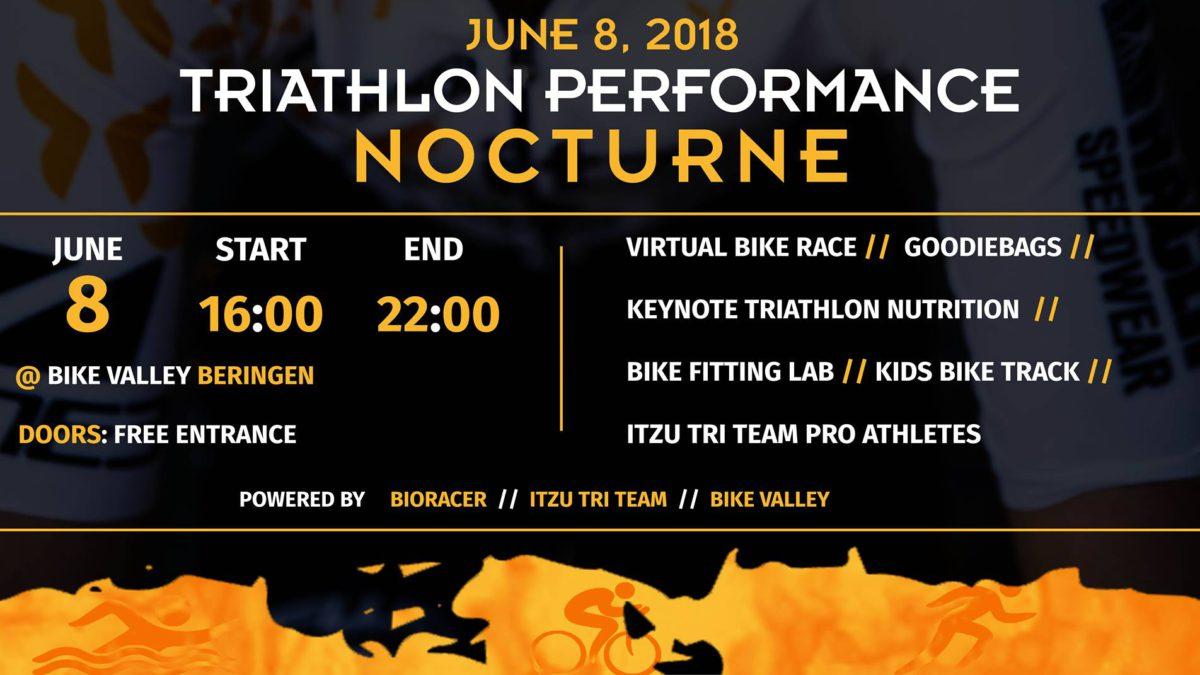 Triatlon Nocturne in Flanders Bike Valley