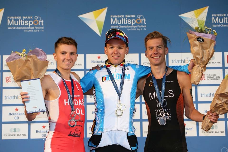Arnaud Dely wereldkampioen duatlon U23