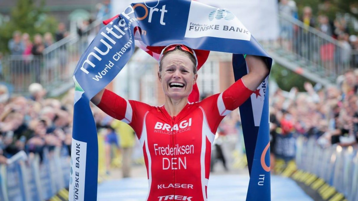 Alexandra Tondeur 6de op WK LD