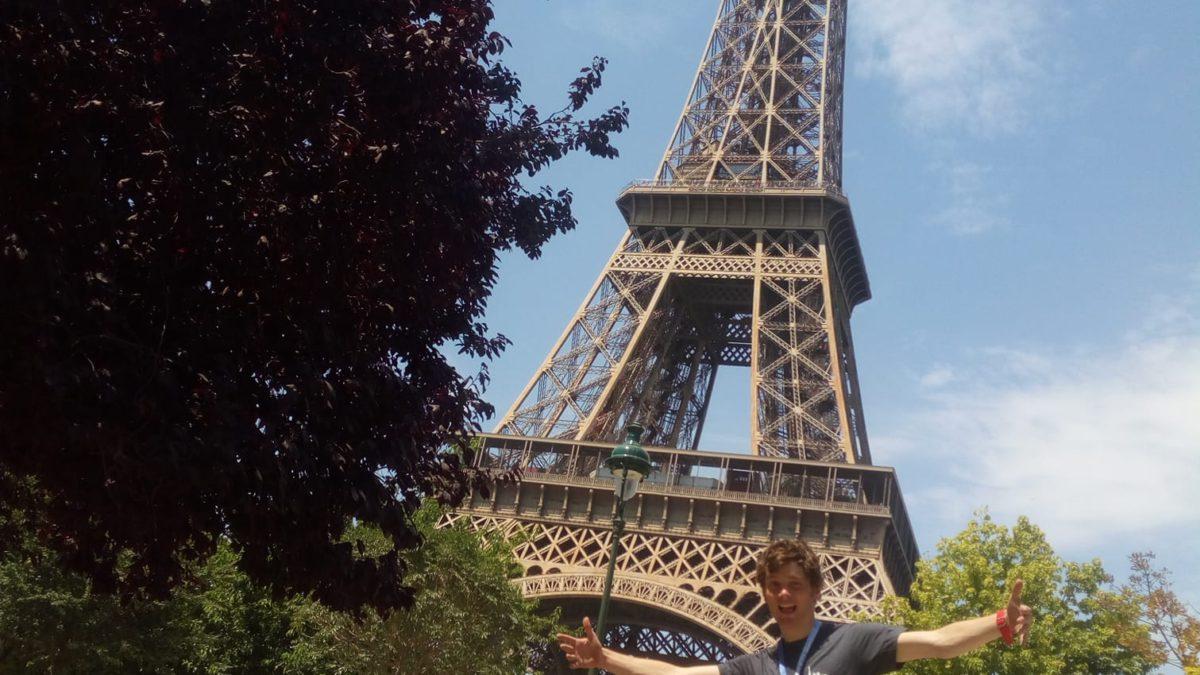 Joachim Wera laat 2385 triatleten achter zich in Parijs