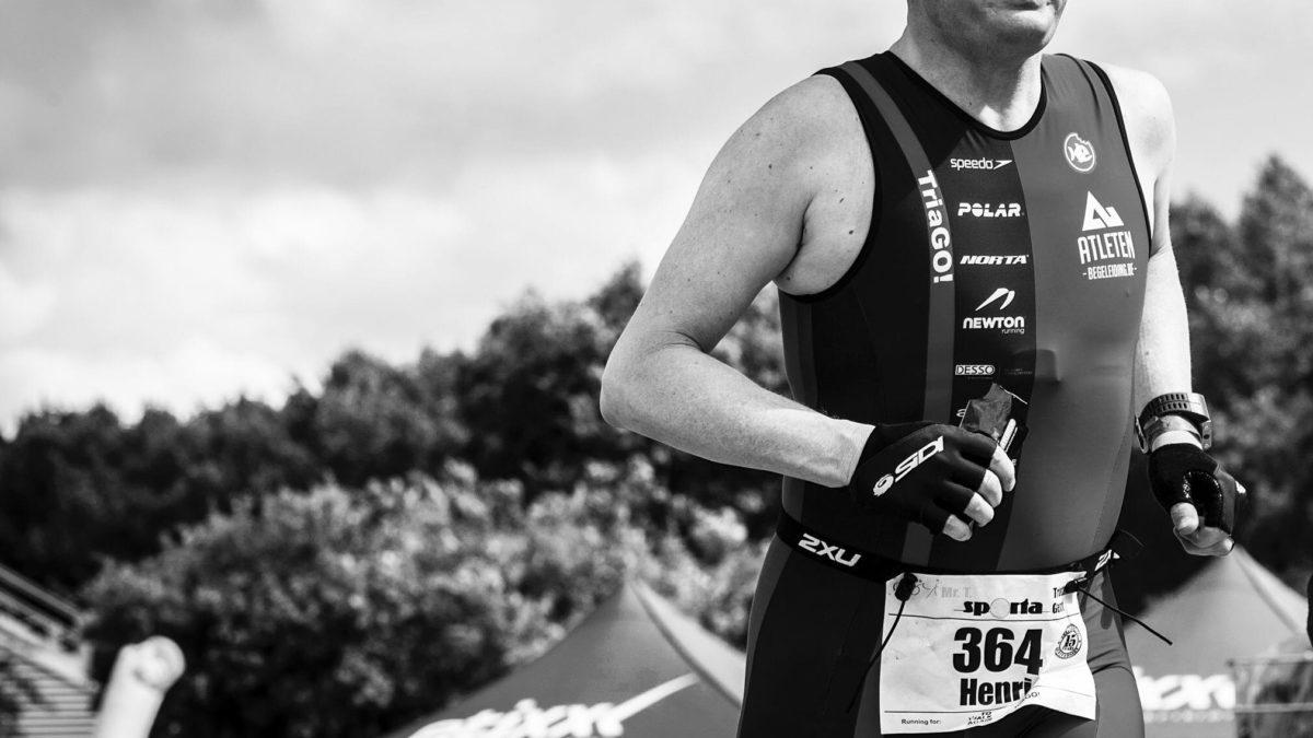 Tria-GO triatleet Henri verliest dan toch de strijd