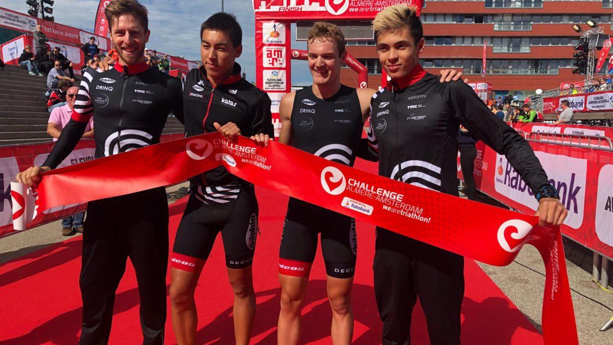 Belgische triatleten pakken Eredivisie titel in Nederland