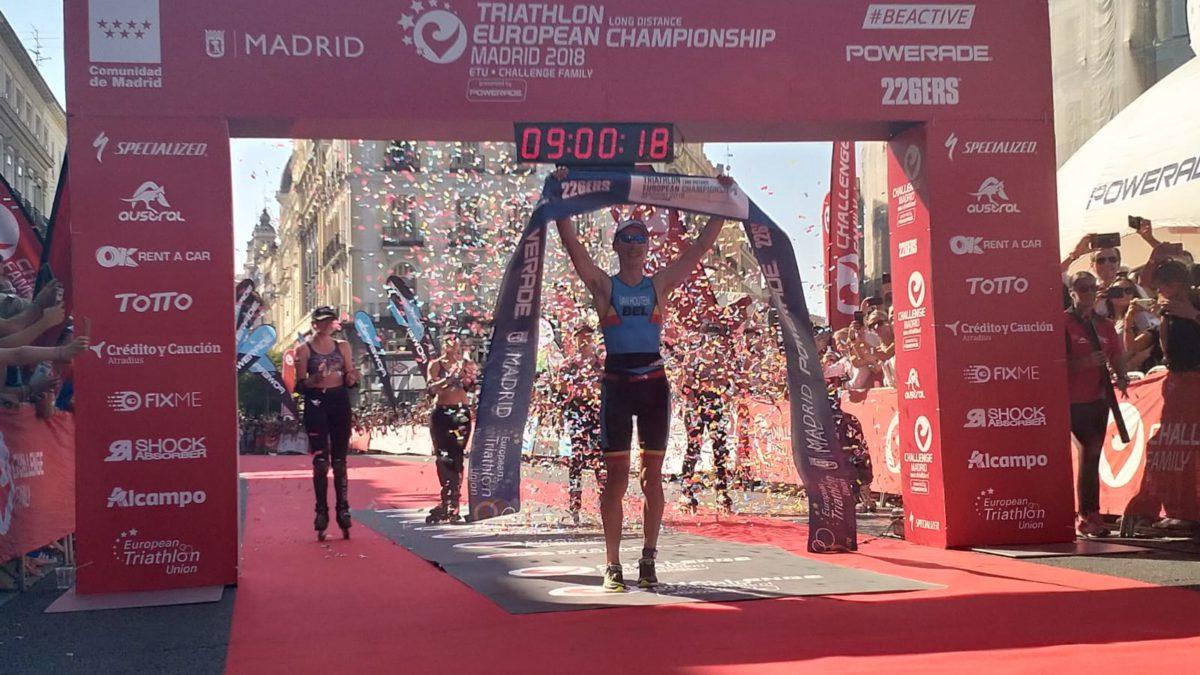 Timothy Van Houtem pakt Europese titel in Madrid, Tondeur tweede