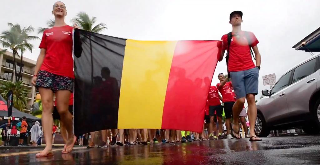 """""""Waar is dat feestje?"""" – Belgen in beeld bij Nations Parade"""