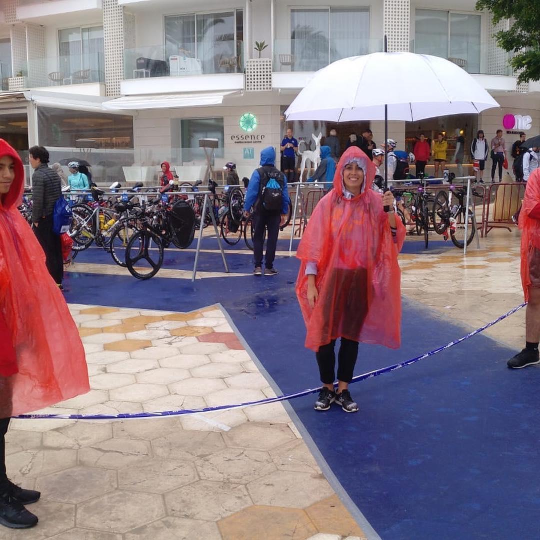 EK halve triatlon Ibiza uitgesteld en fietsen ingekort