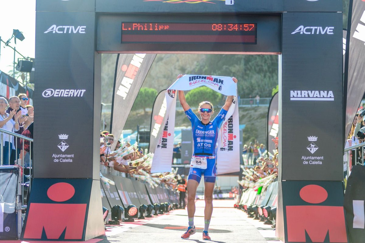 4de Ironman finish Dirk Baelus in 2018, Philipp debuteert met zege