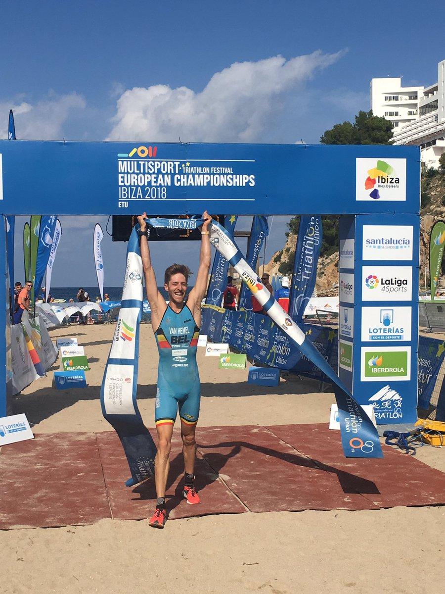 EK Mulitsport: Cross-triatleten meteen aan slag, chaotisch duatlon parcours