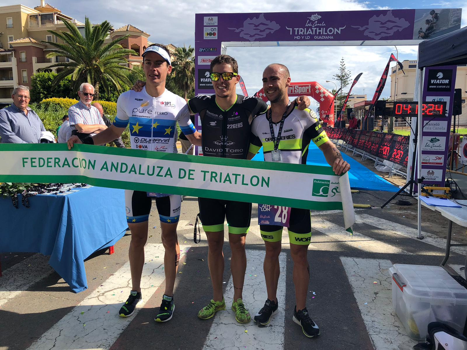 Timothy Van Houtem 2de in kampioenentrui in Guadiana