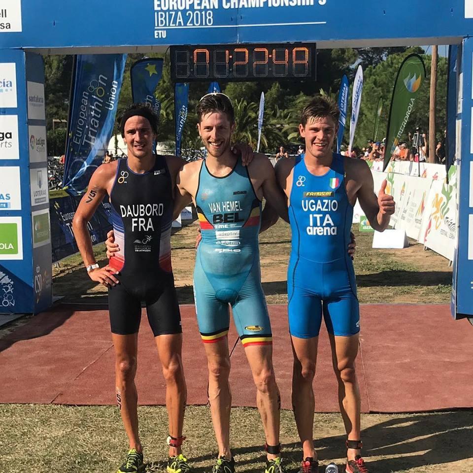Tim Van Hemel pakt dubbel, nu ook Europees kampioen cross triatlon